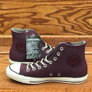 Converse CTAS Hi Dark Sangria Malted Egret Shoes